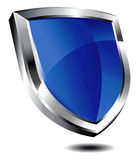 Schermo blu Fotografie Stock Libere da Diritti