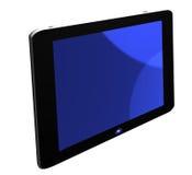 Schermo blu della TV illustrazione vettoriale