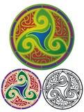 Schermo celtico Immagini Stock