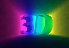 Schermo colorato del cinematografo Fotografie Stock