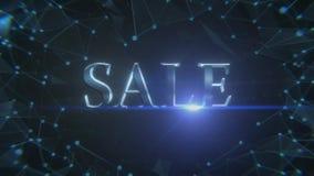 Schermo d'apertura per una vendita royalty illustrazione gratis
