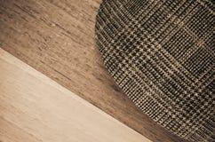 schermo del cappello di pied de poule Immagini Stock