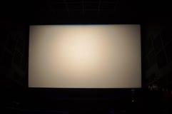 Schermo del cinema Fotografia Stock Libera da Diritti