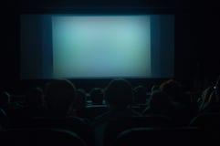 Schermo del cinematografo Fotografie Stock