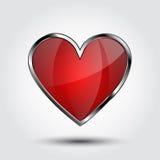 Schermo del cuore Illustrazione di Stock