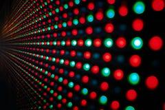 Schermo del LED fotografie stock