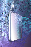 Schermo dell'affissione a cristalli liquidi immagini stock libere da diritti