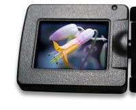 Schermo dell'affissione a cristalli liquidi Fotografie Stock Libere da Diritti