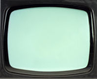 Schermo dell'annata TV Immagini Stock