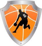 Schermo dell'icona di pallacanestro Fotografie Stock Libere da Diritti