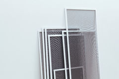 Schermo dell'insetto per Windows e le porte Fotografie Stock