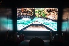 Schermo della macchina di videogioco arcade con un agame immagini stock libere da diritti