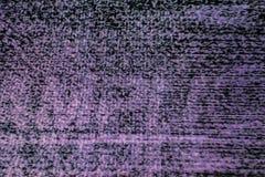 Schermo della televisione con rumore statico Fotografie Stock Libere da Diritti