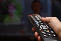 Schermo della TV Fotografia Stock Libera da Diritti