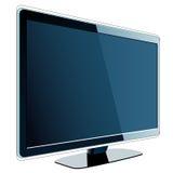 Schermo della TV Fotografia Stock
