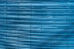 Schermo di bambù blu Fotografie Stock Libere da Diritti