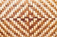 Schermo di bambù del tessuto Fotografia Stock Libera da Diritti