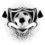 Schermo di calcio di lerciume Fotografia Stock Libera da Diritti