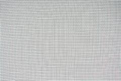 Schermo di cavo della zanzara della maglia di struttura, fondo monocromatico dei modelli fotografia stock libera da diritti