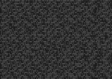 Schermo di codice binario immagini stock libere da diritti