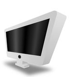 Schermo di monitor fotografia stock libera da diritti