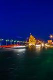 Schermo di notte in Chonburi Fotografia Stock Libera da Diritti