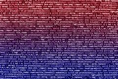 Schermo di programmazione di codice sorgente di codifica Fotografia Stock Libera da Diritti
