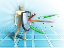 Schermo immune illustrazione vettoriale