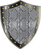 Schermo medievale di fantasia con gli elementi astratti decorativi Fotografie Stock Libere da Diritti