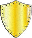 Schermo medievale di fantasia con gli elementi astratti decorativi Immagini Stock