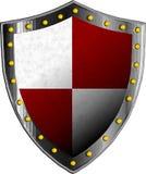 Schermo medievale di fantasia con gli elementi astratti decorativi Immagine Stock