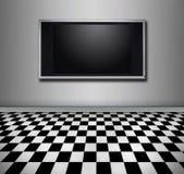 Schermo piano TV illustrazione di stock