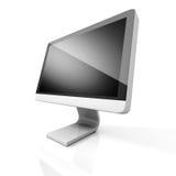 Schermo video del computer di progettazione moderna Immagini Stock Libere da Diritti