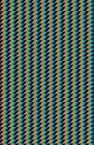 Scherp blauw, een cyaan, en oranje patroon of een detail van een oppervlakte royalty-vrije stock foto