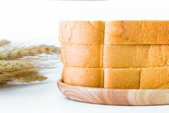 Scherp brood op een plaat Royalty-vrije Stock Foto