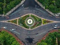 Scherp het bamboemonument van Surabaya royalty-vrije stock afbeeldingen