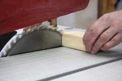 Scherp hout Stock Fotografie