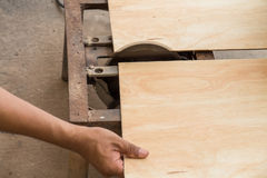 Scherp hout Royalty-vrije Stock Foto's