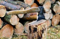 Scherp hout Royalty-vrije Stock Afbeeldingen