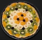 Scherp met Fruit Royalty-vrije Stock Fotografie