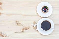 Scherp met Verse berrie Royalty-vrije Stock Fotografie