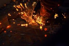 Scherp metaal stock fotografie
