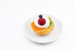 Scherp van fruit Stock Foto