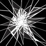 Scherp verbrijzel vector illustratie