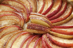 Scherpe appel Stock Afbeelding
