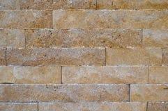 Scherpe beige marmeren opgestelde muur, Lounge, abstractie stock foto