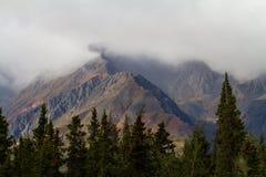 Scherpe Bergketen Royalty-vrije Stock Fotografie
