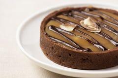 Scherpe chocolade en Karamel Royalty-vrije Stock Foto's