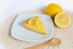 Scherpe citroen stock fotografie