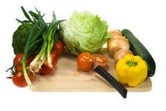Scherpe groenten royalty-vrije stock foto's